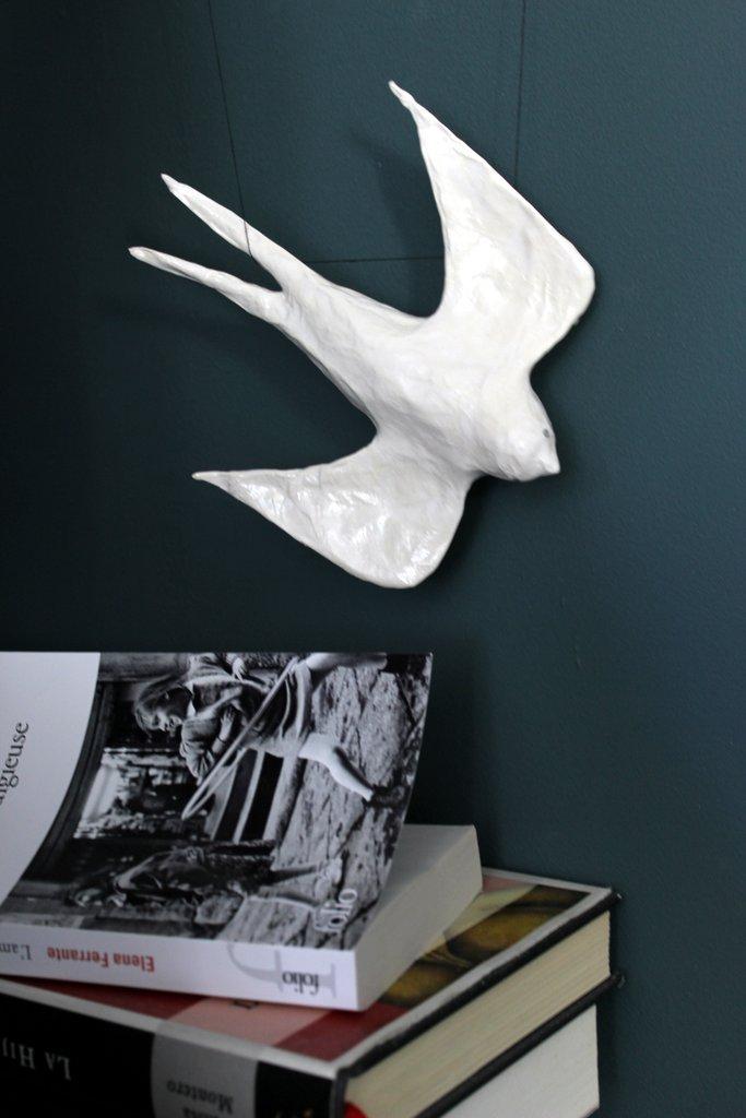 Pappenstiel-oiseau-papier mâché