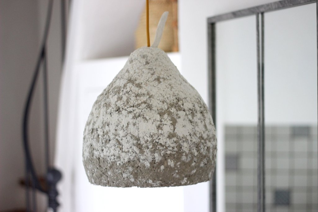 Pappenstiel - Lampe aus Pappmaché