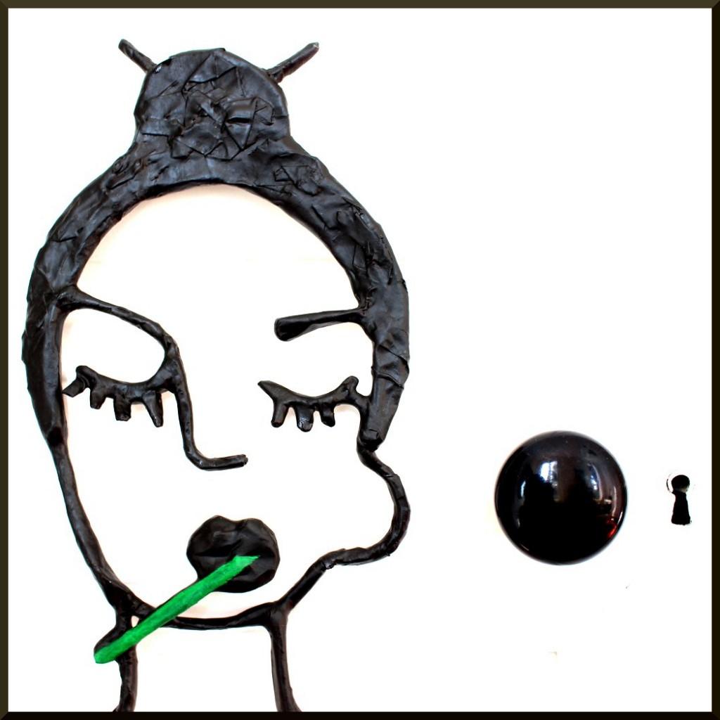 2D Sculpture sucette