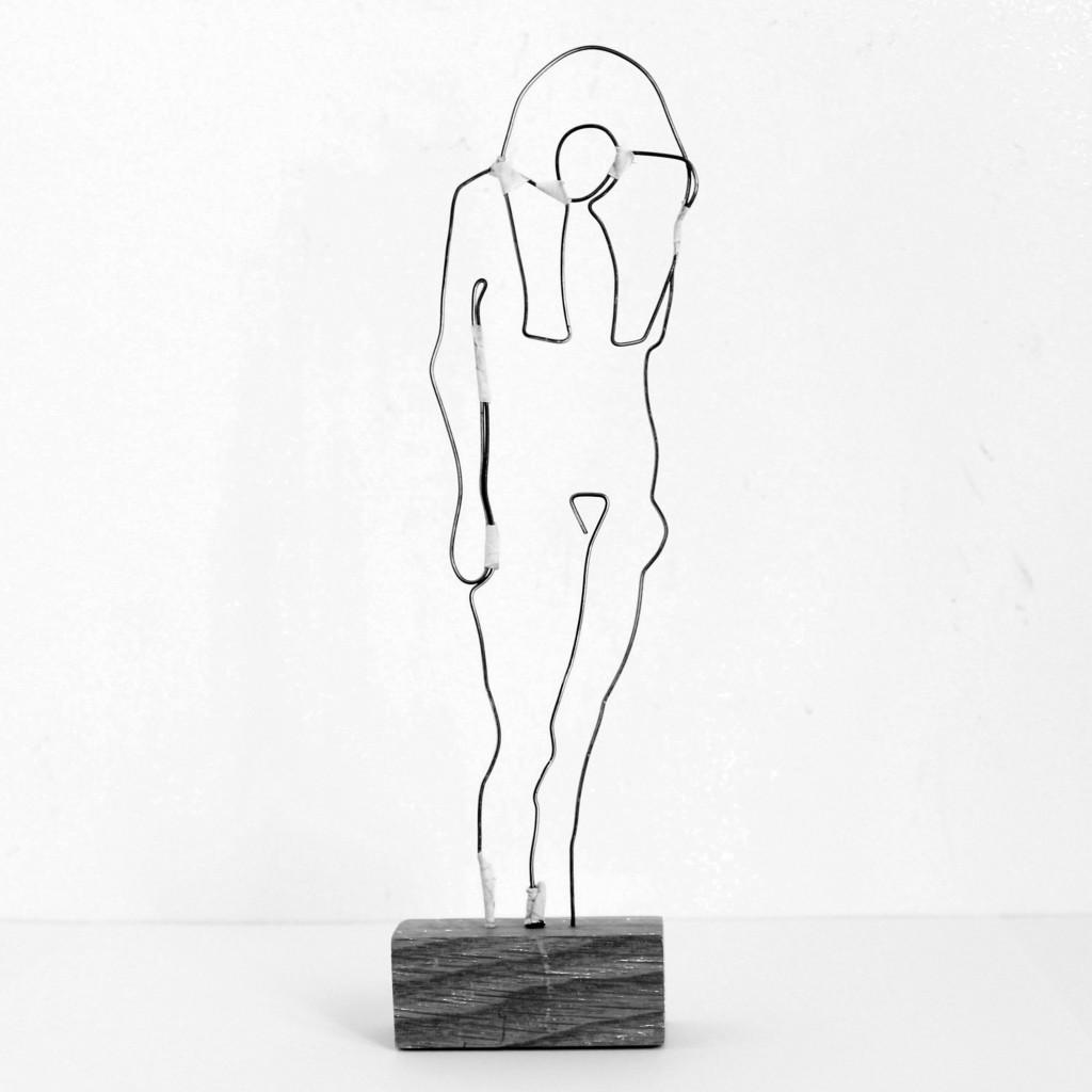 Drahtskulptur Pappelini