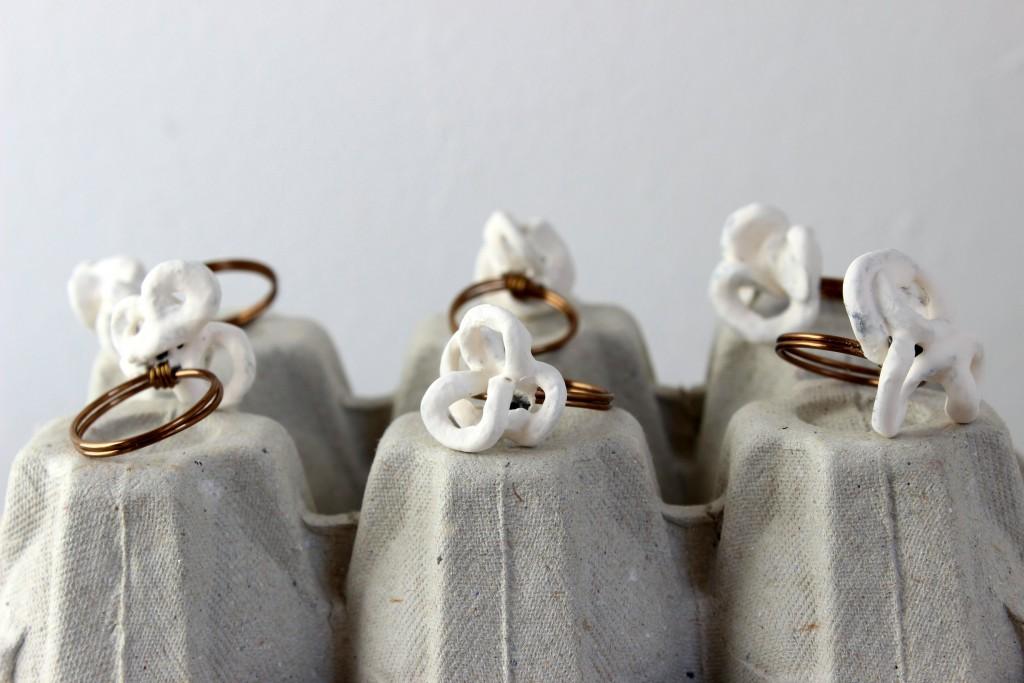 Pappelini - Ringe in Arbeit